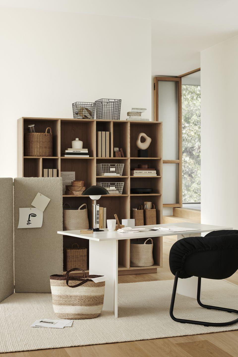 """<p>The home office has, of course, become more significant than ever before. With many of us kick-starting the new year working from home, H&M has all you need to upgrade your office space for less. </p><p>'Here we showcase a creative environment with a timeless, warm, minimalistic and personal expression, that shows how the home workspace can look as stylish as the rest of the home,' say the team at H&M Home. </p><p><a class=""""link rapid-noclick-resp"""" href=""""https://go.redirectingat.com?id=127X1599956&url=https%3A%2F%2Fwww2.hm.com%2Fen_gb%2Fhome.html&sref=https%3A%2F%2Fwww.housebeautiful.com%2Fuk%2Flifestyle%2Fshopping%2Fg35116386%2Fhandm-home-spring%2F"""" rel=""""nofollow noopener"""" target=""""_blank"""" data-ylk=""""slk:SHOP H&M HOME"""">SHOP H&M HOME</a> </p>"""