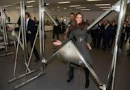 <p>The Reiss coat was back in action when the duchess hit up a new gym in Burton-Upon-Trent in England. </p>
