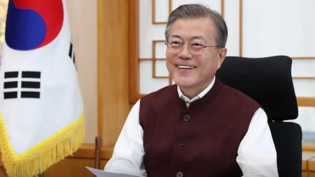 South Korean President Moon Jae-in was recently gifted Jade Blue Modi Jackets by Prime Minister Narendra Modi.