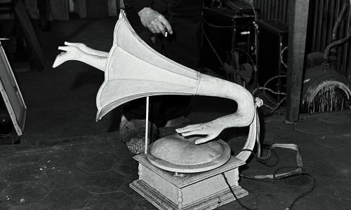 Rediscovered erotic gramophone by Óscar Domínguez goes on display