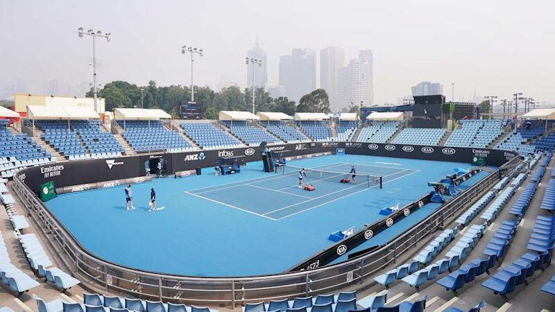 Smoke haze hangs over Melbourne for another day with Australian Open qualifying affected