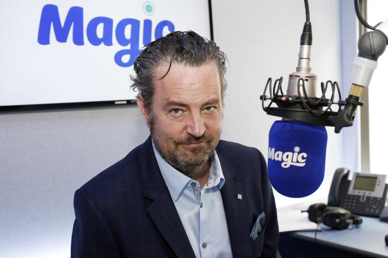 Matthew Perry, pictured in 2015, took to social media to joke about unflattering photos of him. (Photo: Alex B. Huckle/Getty Images)