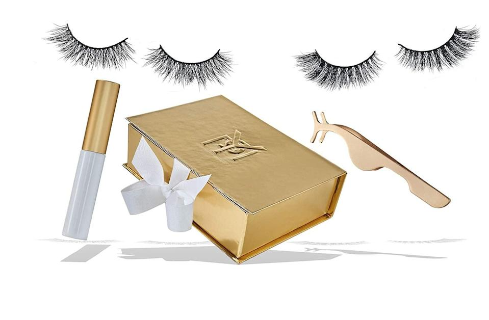 <p>This <span>PYP Perfecting Your Presence by Derrick Rutledge Limited-Edition Mink Eyelash Collection</span> ($60) is such a fun kit, and will give you gorgeous lashes.</p>