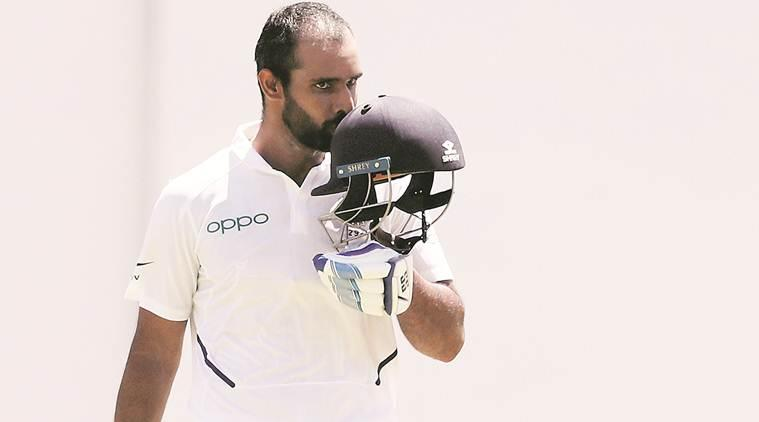 Hanuma Vihari, India vs West Indies, test match, Hanuma Vihari century, cricket news, sports news, indian express