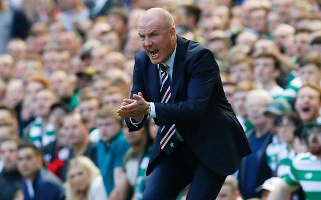 Mark Warburton left Rangers under a cloud - Russell Cheyne