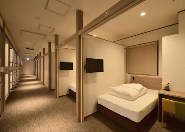 Japan's Secret to a Good Night on a Budget: 5 New Capsule Hotels in Osaka (From $20/night!)