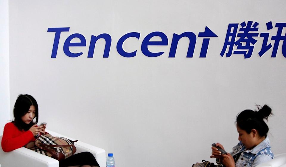 Tencent rose after posting better-than-expected profit in the third quarter. Photo: Reuters