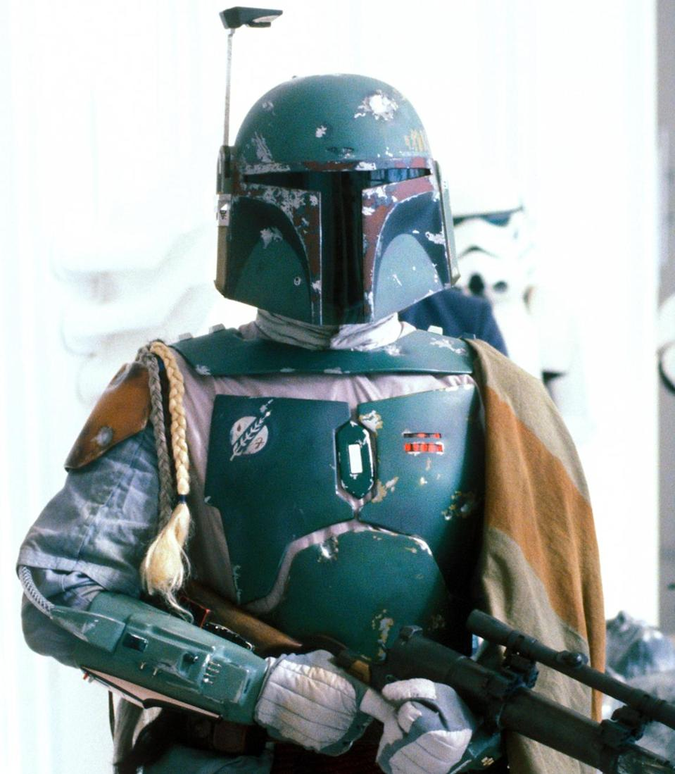 Boba Fett is ready for his close-up. (Photo: Lucasfilm)