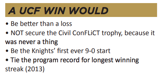 (UCF game notes)