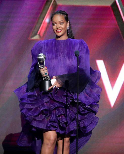 PHOTO: Rihanna accepts the President's Award onstage during the 51st NAACP Image Awards, Presented by BET, at Pasadena Civic Auditorium, Feb. 22, 2020 in Pasadena, Calif. (Aaron J. Thornton/Getty Images)