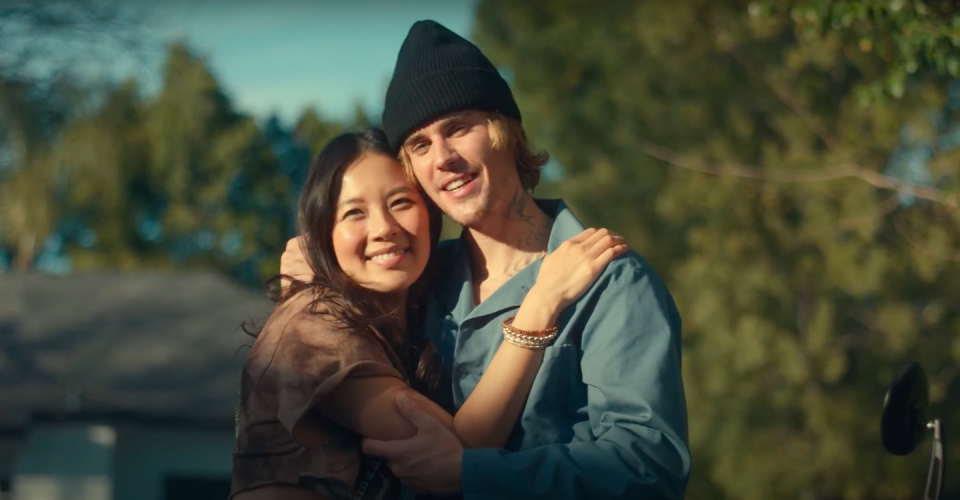 """<p>Ko plays the love interest of Bieber in the latest single """"Hold On"""" music video. (Screengrab from YouTube)</p>"""