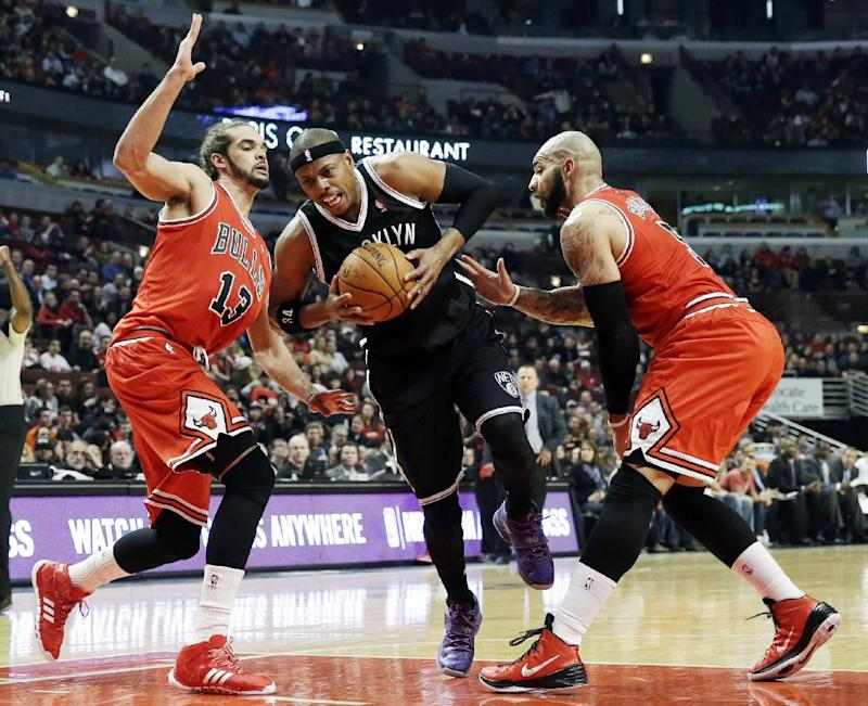 Gibson, Boozer leads Bulls past Nets, 92-76