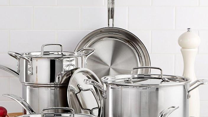 Say hello to savings on cookware sets, small appliances and more at this limited-time Kohl's sale.