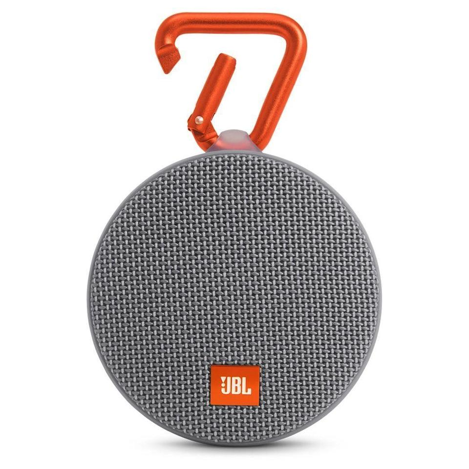 """<p><strong>JBL</strong></p><p>amazon.com</p><p><strong>$51.99</strong></p><p><a href=""""https://www.amazon.com/dp/B01F24RFX8?th=1&tag=syn-yahoo-20&ascsubtag=%5Bartid%7C2089.g.291%5Bsrc%7Cyahoo-us"""" rel=""""nofollow noopener"""" target=""""_blank"""" data-ylk=""""slk:Shop Now"""" class=""""link rapid-noclick-resp"""">Shop Now</a></p><p>Got a friend who loves to throw a good party? She doesn't need a big speaker for bigger sound. This waterproof speaker from JBL will will keep going for up to 8 hours. </p><p>It also has NFC connectivity that'll easily pair with compatible devices to make party planning a breeze.</p><p><strong>Read More:</strong> <a href=""""https://www.bestproducts.com/tech/electronics/a14250893/reviews-top-portable-bluetooth-speakers/"""" rel=""""nofollow noopener"""" target=""""_blank"""" data-ylk=""""slk:Bring the Party Anywhere With These Portable Bluetooth Speakers"""" class=""""link rapid-noclick-resp"""">Bring the Party Anywhere With These Portable Bluetooth Speakers</a></p>"""