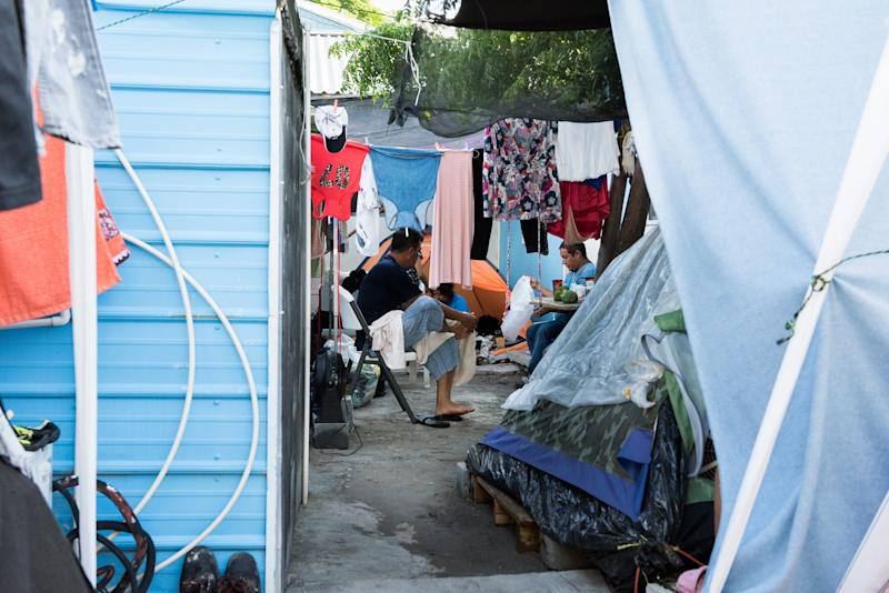 REYNOSA, Mexico– Senda De Vida Casa Del Emigrante faces overcrowding as migrants wait here for several months to be called by United States immigration authorities to begin their asylum request.