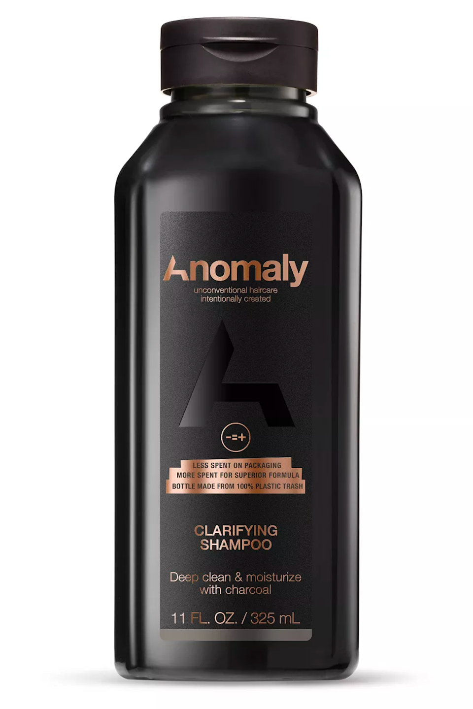 """<p><strong>Anomaly</strong></p><p>target.com</p><p><strong>$5.99</strong></p><p><a href=""""https://www.target.com/p/anomaly-clarifying-shampoo-11-fl-oz/-/A-80139154"""" rel=""""nofollow noopener"""" target=""""_blank"""" data-ylk=""""slk:Shop Now"""" class=""""link rapid-noclick-resp"""">Shop Now</a></p><p>Sorry, this clarifying shampoo won't magically give you glossy Hollywood hair of Anomaly founder <a href=""""https://www.instagram.com/p/CQod2r7HrJ4/"""" rel=""""nofollow noopener"""" target=""""_blank"""" data-ylk=""""slk:Priyanka Chopra"""" class=""""link rapid-noclick-resp"""">Priyanka Chopra</a> (wow, rude), but it <em>will </em><strong>dissolve gunky product buildup and absorb excess scalp oils with a dose of charcoal</strong>. This one is on the more ~intense~ end of the dryness spectrum, so make sure to use sparingly and with a good deep conditioner.</p>"""