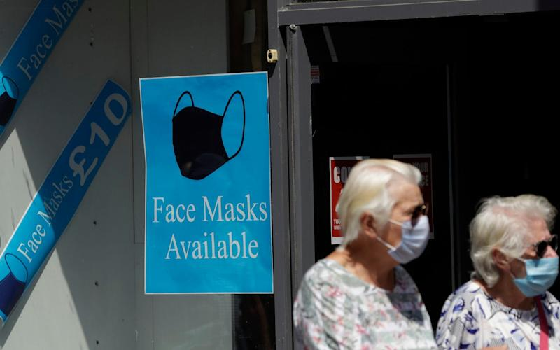The Prime Minister is expected to reintroduce shielding for those most at risk from coronavirus as long as the danger of a second wave remains - Matt Dunham/AP