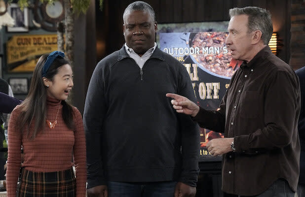 'Last Man Standing': Mike Tries to Make Jen Give Up Her Family's Secret Recipe So He Can Win the Chili Cook-Off (Exclusive Video)