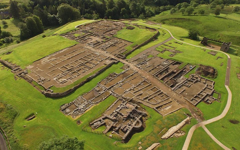 History comes to life out in the open at Vindolanda