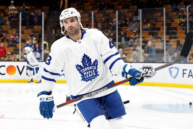 Nazem Kadri has been suspended for the second straight year. (Photo by Fred Kfoury III/Icon Sportswire via Getty Images)