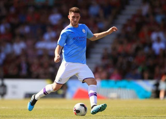 Aymeric Laporte is closing in on a return (Adam Davy/PA)