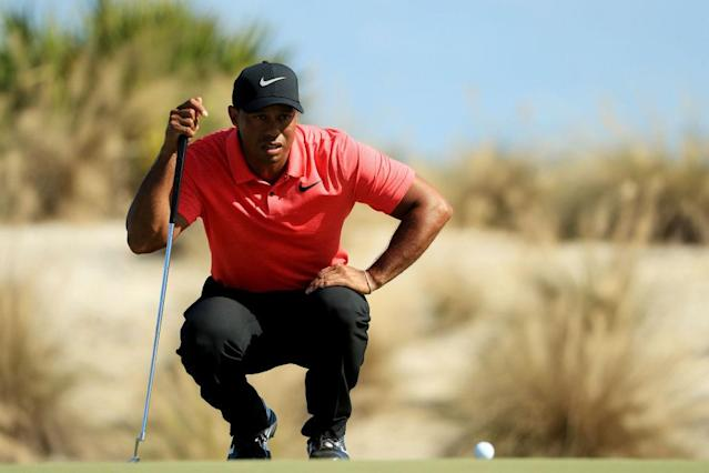 Tiger Woods had a spectacular Sunday. (Getty)