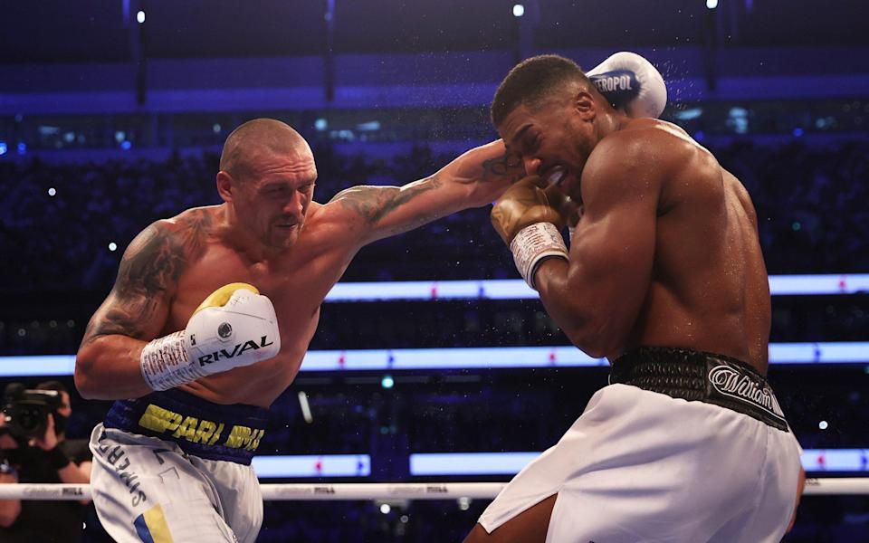 Anthony Joshua defeated: how it unfolded and how they reacted - GETTY IMAGES