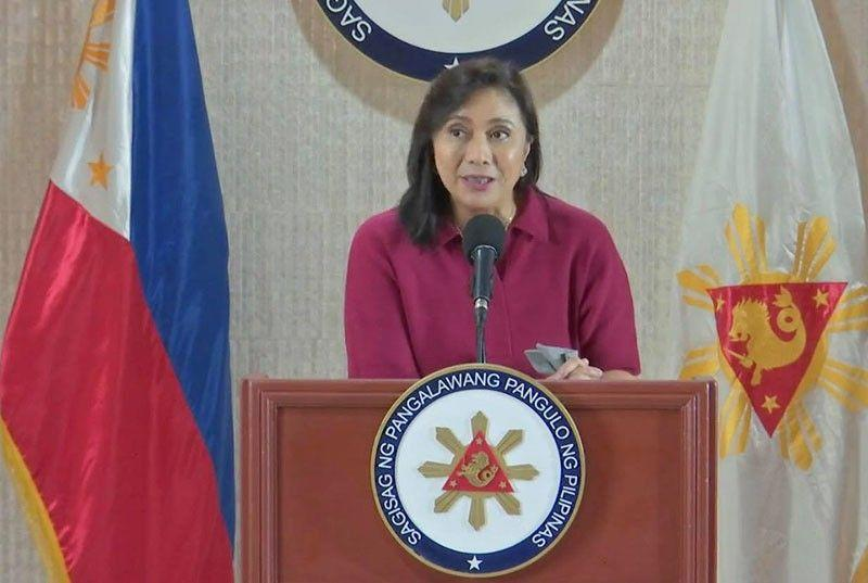 Robredo: Duterte's drug war gets failing mark