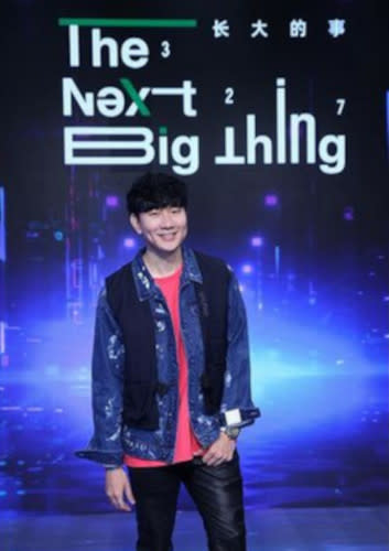 """And another one at the press conference for his """"The Next Big Thing 327"""""""