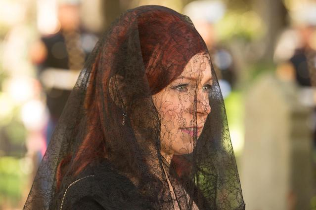 "Carrie Preston in the ""True Blood"" Season 6 episode, ""Life Matters."""