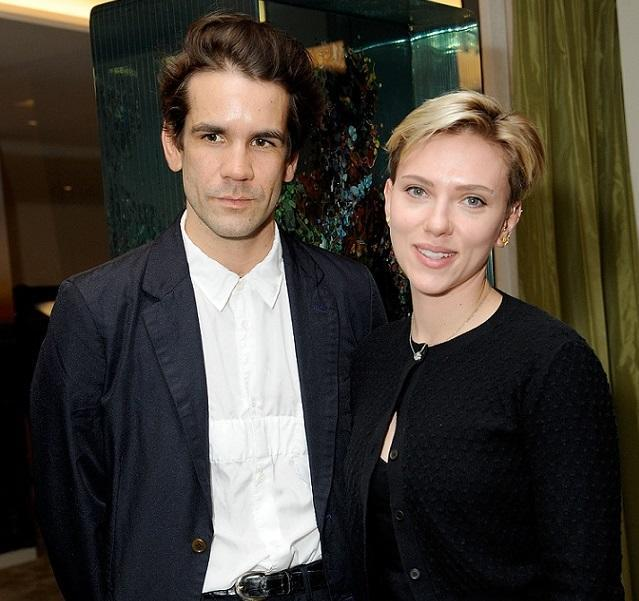 Scarlett Johansson and Romain Dauriac just proved you can be friends with your ex