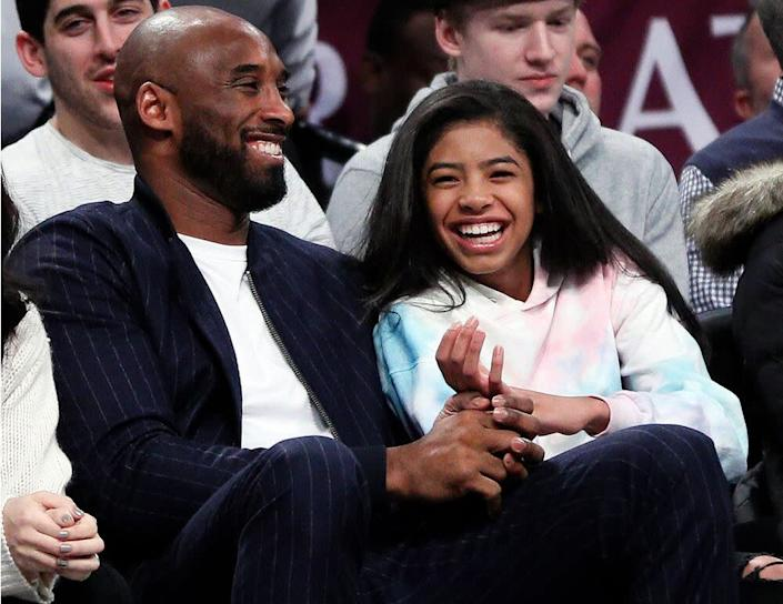 Kobe Bryant and his daughter Gigi | Paul Bereswill/Getty