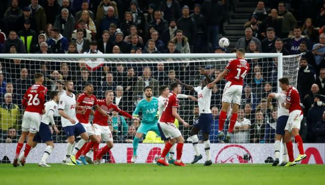 FA Cup Third Round Replay -Tottenham Hotspur v Middlesbrough