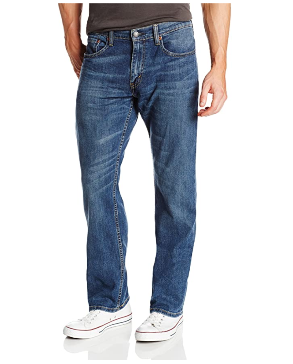 Levi's Men's 559 Relaxed Straight Fit Jean. Image via Amazon.