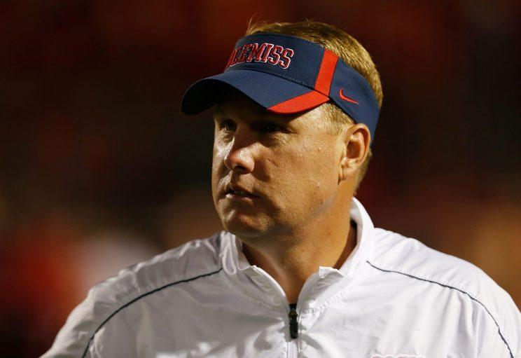 Hugh Freeze resigned from his job as Ole Miss' football coach on Thursday. (Getty)