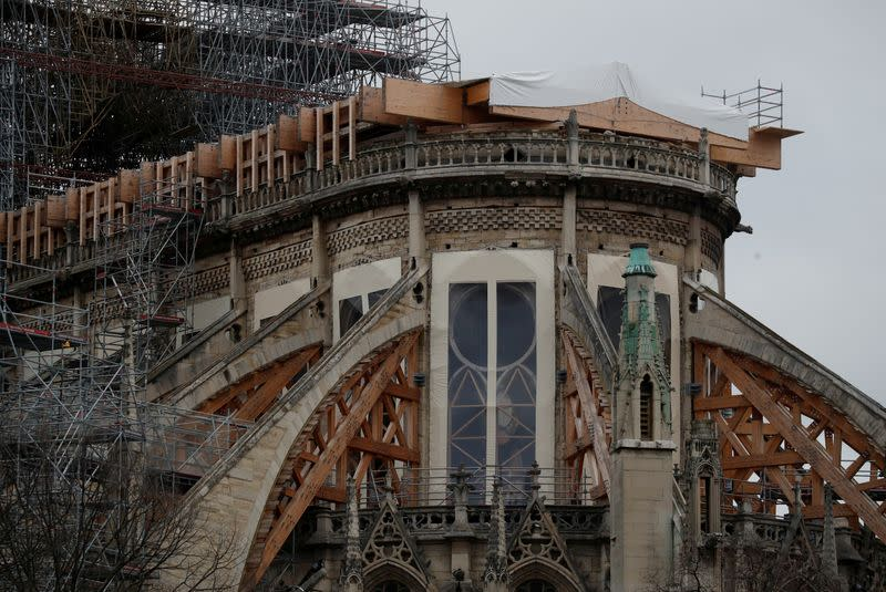FILE PHOTO: General view of the Notre Dame Cathedral in Paris
