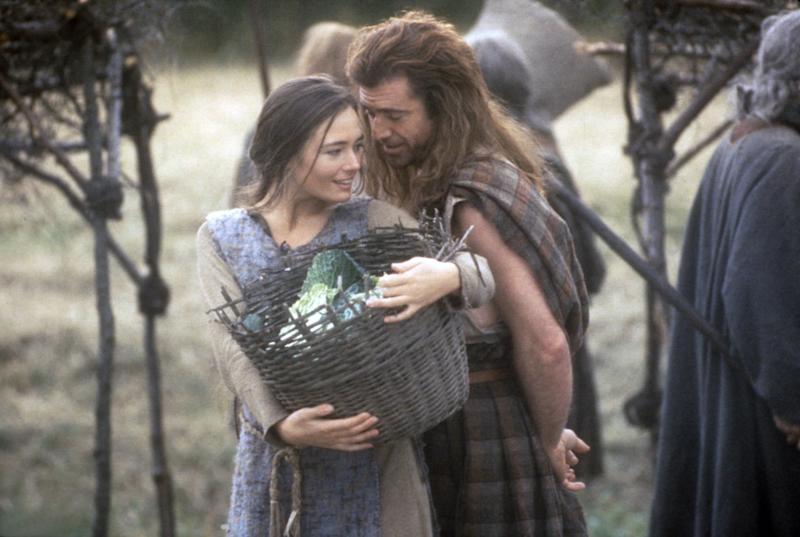 Catherine McCormack plays Gibson's onscreen wife in 'Braveheart,' and dies early in the film. (Photo: 20th Century Fox Film Corp. All rights reserved. Courtesy: Everett Collection.)