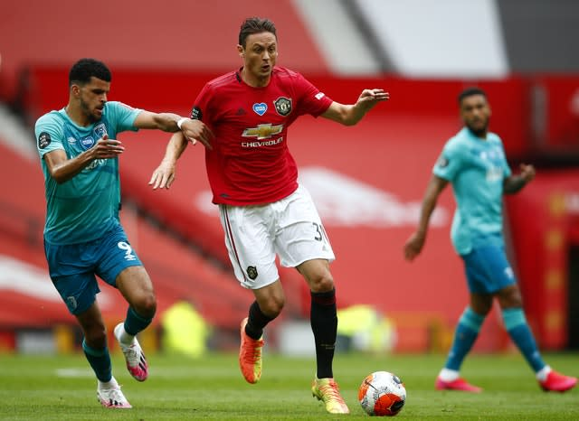 Matic has started each of United's last three Pemier League matches (Clive Brunskill/NMC Pool/PA).