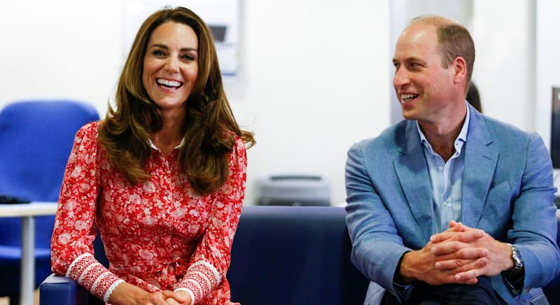 The Duke and Duchess of Cambridge have shared a heart-warming clip to their Instagram. (Getty Images)