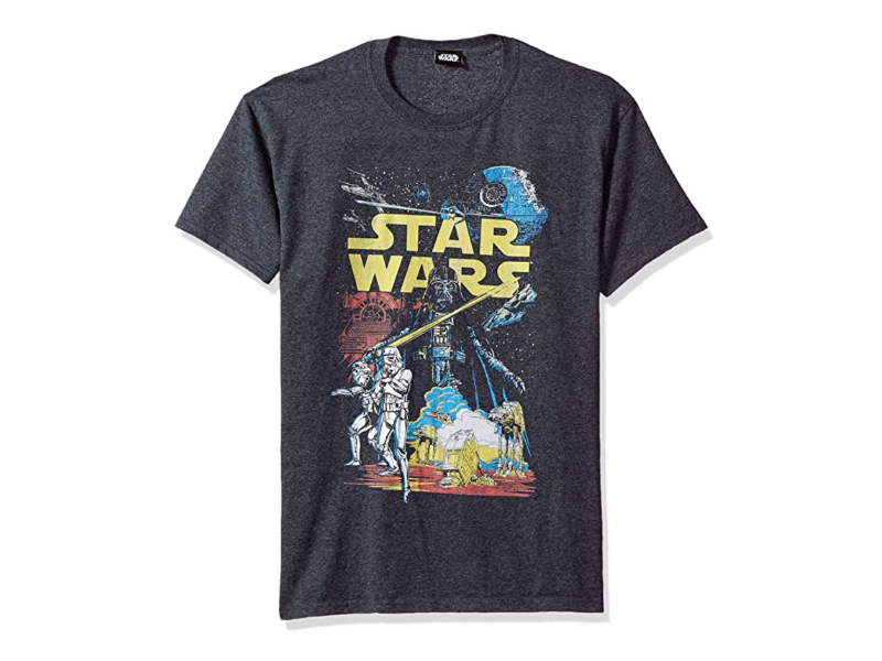 Save on Star Wars tees today! (Photo: Amazon)