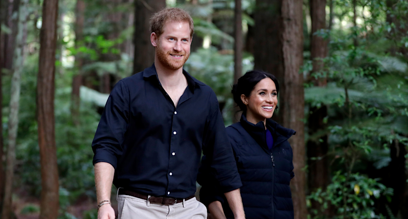 The Duke and Duchess of Sussex. Image via Getty Images.
