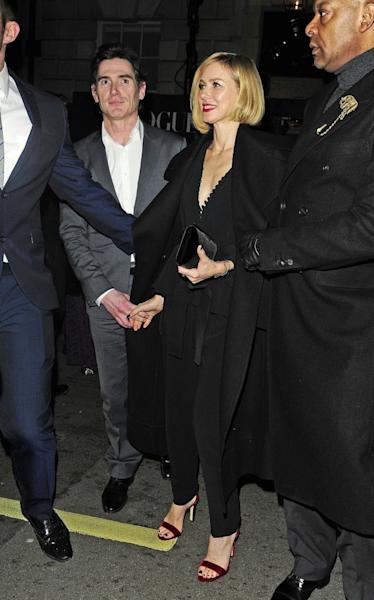The rumored couple were spotted hand-in-hand in London, England, on Sunday.