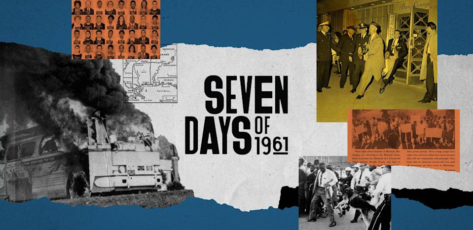 Seven Days of 1961: Americans stood up to racism and changed history.