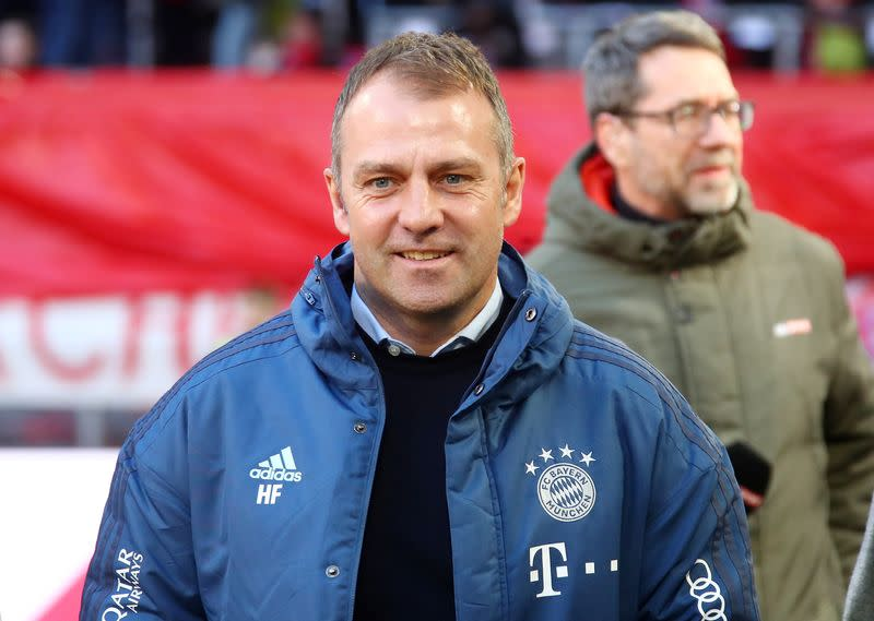 Soccer: Bayern coach Flick signs permanent deal until 2023