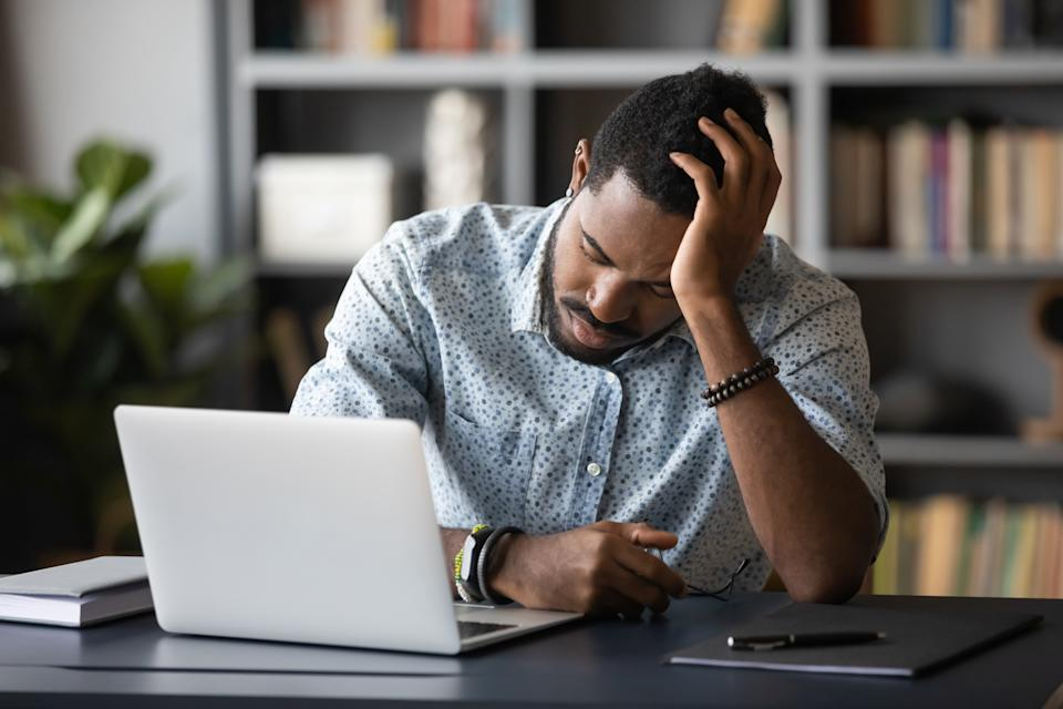 Slow computer? Try these work from home fixes. (Photo: Getty)