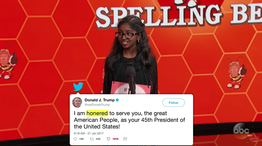 Welcome to the 'Make America Grate Again Spelling Bee'
