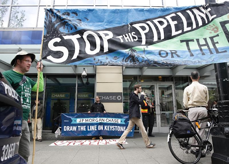 I'm Temporarily Blocking The Keystone Pipeline's Construction