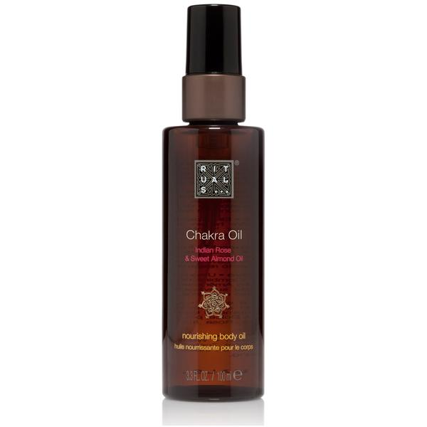 "<p>Use this Indian rose and sweet almond-scented body oil for an at-home massage that'll deliver a sensual and soothing experience. $19, <a rel=""nofollow"" href=""https://www.rituals.com/en-us/chakra-oil-4448.html"">rituals.com</a> </p>"