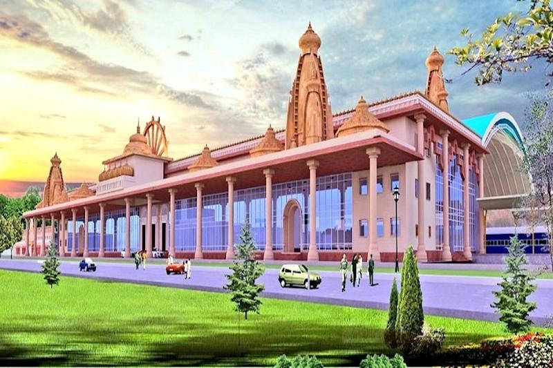 Ayodhya Railway Station to Get a Face-lift With Ram Temple-like Domes, Auditorium & Food Plaza