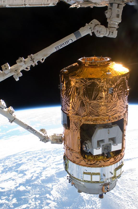 Japan Launching Robotic Cargo Ship to Space Station Tonight